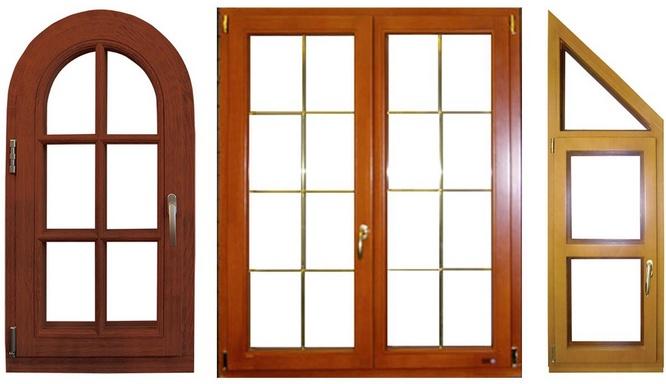 Деревянные окна: монтаж и уход