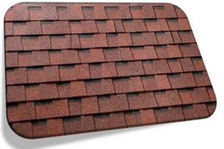Фото: Мягкая кровля для крыши дома