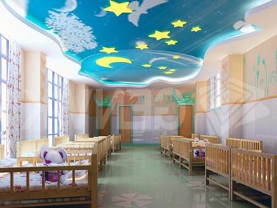 Фото: Потолок из панелей ПВХ