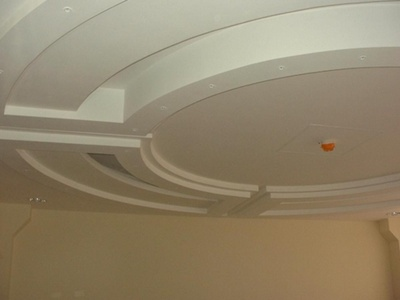 Фото: Потолок своими руками из гипсокартона