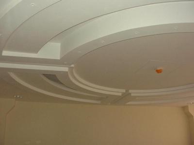 Фото: Монтаж потолка из гипсокартона