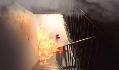 Огонь дымоудаление