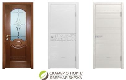 3 шпон дверных полотна